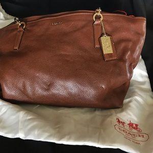 Coach Chestnut Shoulder Bag Madison